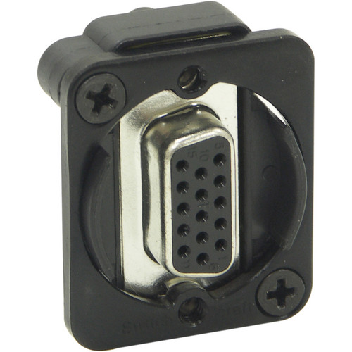 Switchcraft EH Series VGA Female to Female Connector (Black)