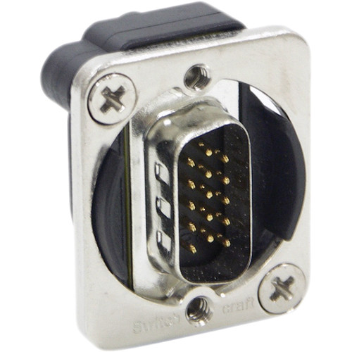 Switchcraft EH Series VGA Male to Female Connector (Nickel)