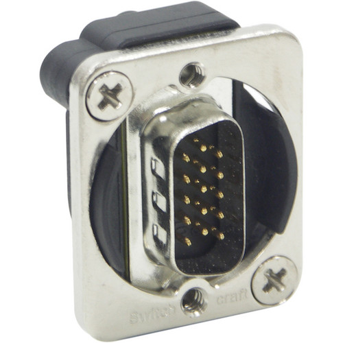 Switchcraft EH Series VGA Male to Male Connector (Nickel)