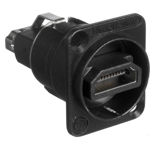 Switchcraft EH Series HDMI Feed-Through Connector (Black)