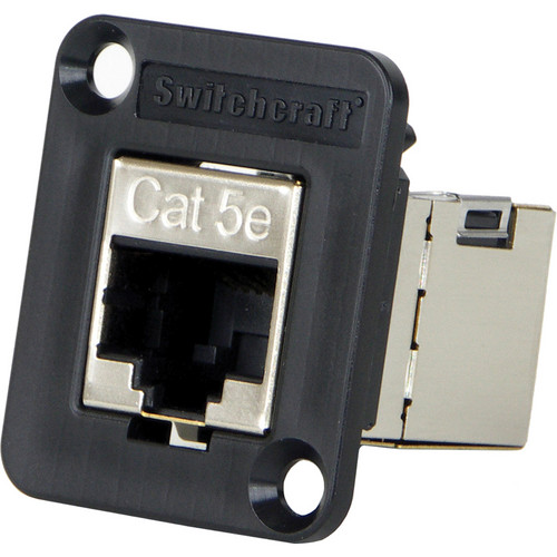Switchcraft EH Series Ethernet Cat 5e Shielded Feedthru Adapter