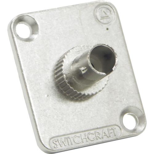 Switchcraft EH ST Fiber Optic Feedthrough Connector (Nickel, Multi-Mode)
