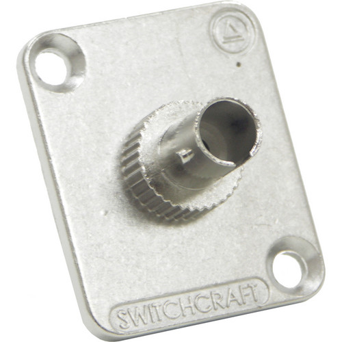 Switchcraft EH ST Fiber Optic Feedthrough Connector (Nickel, Multi-Mode)