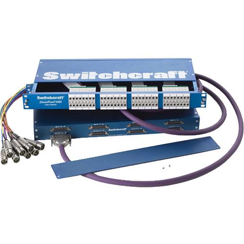 Switchcraft StudioPatch 6425 64-Point Bantam/TT to DB-25 Patchbay