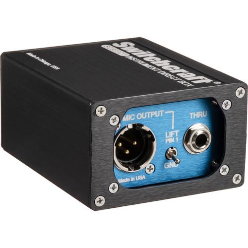 Switchcraft SC800CT Instrument Direct Box with Custom Transformer