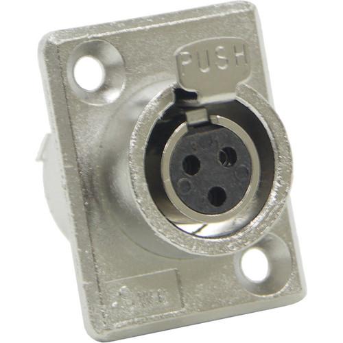Switchcraft Mini XLR Female 3 Contacts (Solder Terminals)