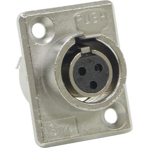 Switchcraft Mini XLR Female 3 Contacts (PC Mount)
