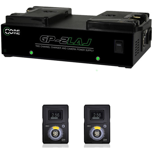 Core SWX Two HyperCore GOLD Batteries and Dual Charger