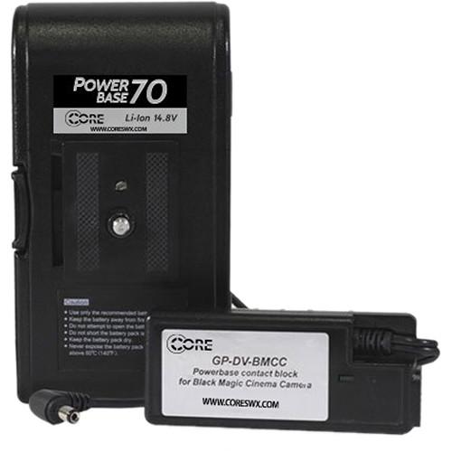 Core SWX Blackmagic Camera Powerbase DLX Kit