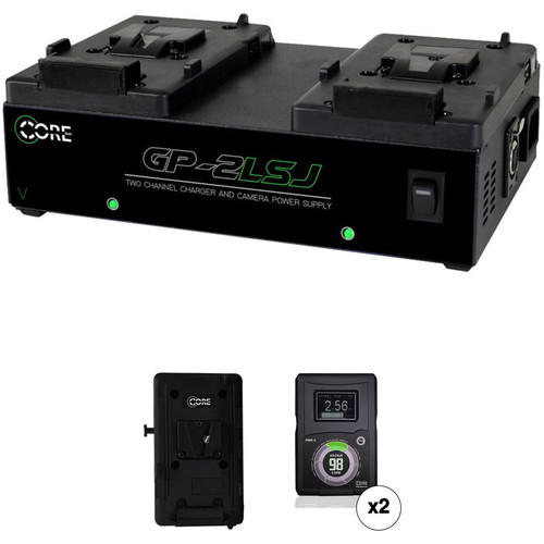 Core SWX HyperCore-98S V-Mount 2-Battery Kit for Blackmagic URSA Cameras