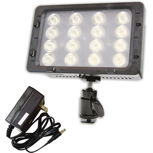 Switronix TorchLED Bolt On-Camera Light Kit with Battery, Charger, Power Supply