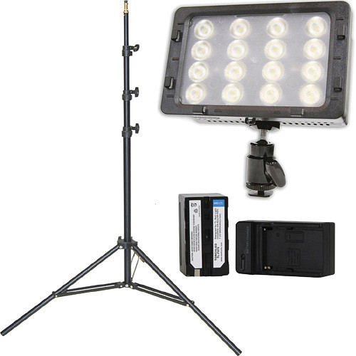 Core SWX TorchLED Bolt 220W On-Camera Light with Stand Kit
