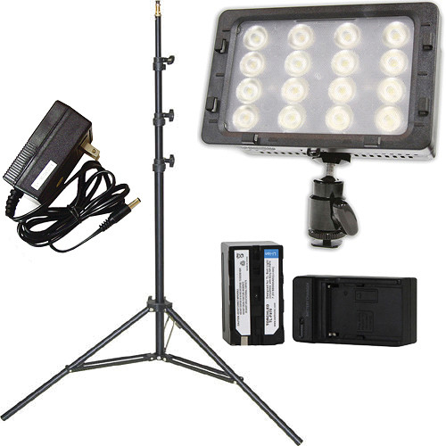 Core SWX TorchLED Bolt 220W On-Camera Light with Power Supply and Stand Kit