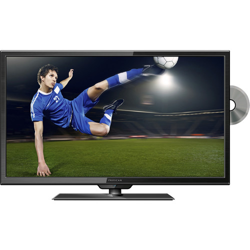 "Proscan PLEDV2488A 24""-Class HD Multi-System LED TV with Built-In DVD Player"
