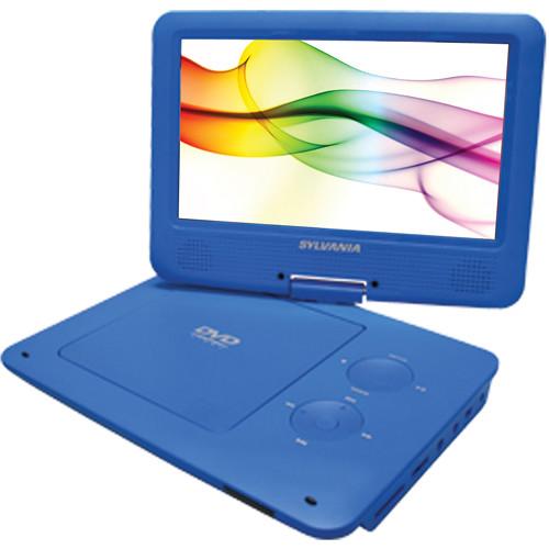 "Sylvania SDVD9020B 9"" Portable DVD Player (Blue)"