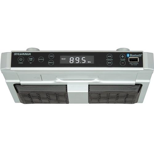 Sylvania SKCR2810BT Under-Counter Bluetooth Radio