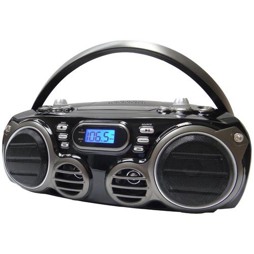 Sylvania Portable Bluetooth/CD Boom Box