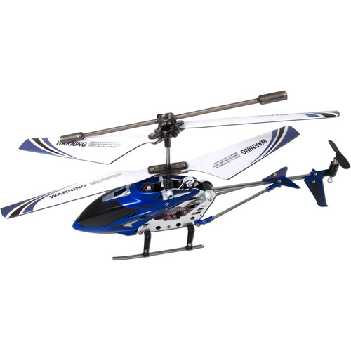 SYMA 3-Channel S107 / S107G Mini Indoor Metal Frame Helicopter (Blue)