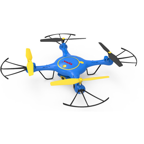 SYMA X5UW FPV Real-Time Quadcopter with 720p Wi-Fi Camera & 4-Channel Remote Control (Blue/Yellow/Black)