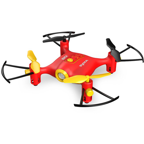 SYMA X20 Pocket Quadcopter with Auto-Hover (Red)