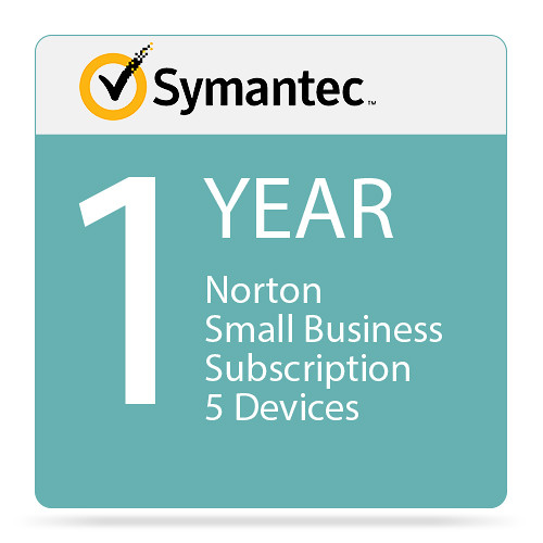 Symantec Norton Small Business (5-Device, 1-Year Subscription)