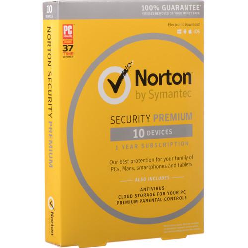 Symantec Norton Security Premium 3.0 Subscription License (1-Year)