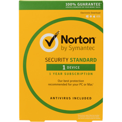 Symantec Norton Security Standard 3.0 1 User/1 Device