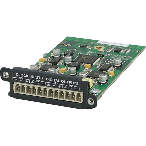 Symetrix 4-Channel Digital Output Card for Edge and Radius Sound DSP