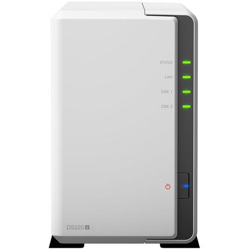 Synology DiskStation DS220j 2- Bay NAS Enclosure