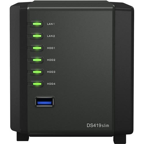 Synology DiskStation DS419slim 4-Bay NAS Enclosure