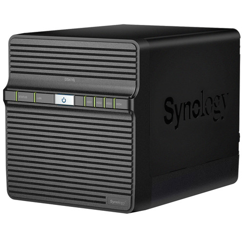 Synology DiskStation 16TB DS416j 4-Bay NAS Server Kit (4 x 4TB)