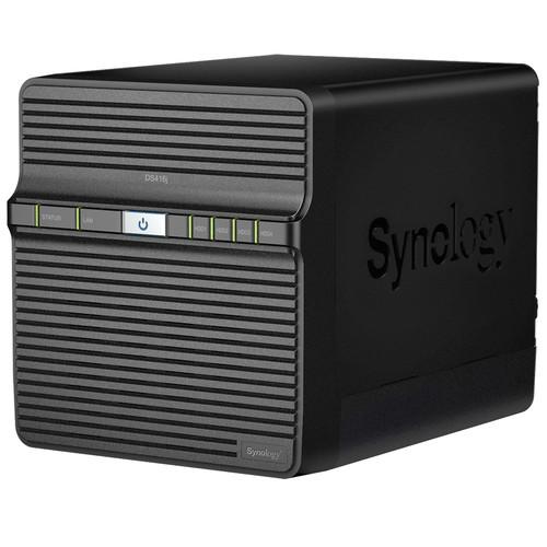 Synology DiskStation 40TB DS416j 4-Bay NAS Server Kit (4 x 10TB)