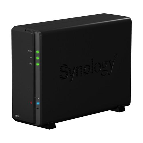 Synology DiskStation 4TB DS116 1-Bay NAS Server Kit (1 x 4TB)