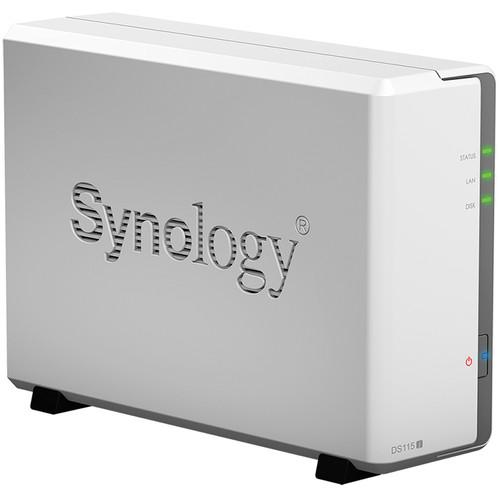 Synology DiskStation DS115j 4TB (1 x 4TB) Single Bay NAS Server Kit with HGST NAS Drives