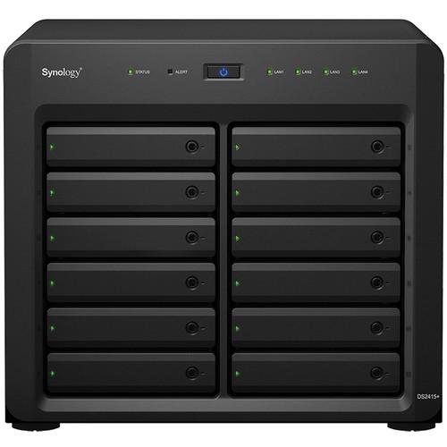 Synology DiskStation DS2415+ 12-Bay NAS Server