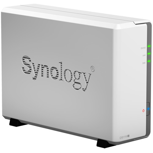 Synology DiskStation DS119j 1-Bay NAS Enclosure