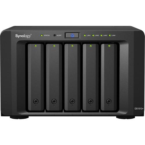 Synology DS1513+ DiskStation 5-Bay NAS Server