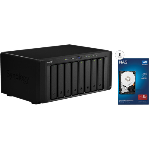 Synology DiskStation DS1815+ 40TB (8 x 5TB) 8-Bay NAS Server Kit