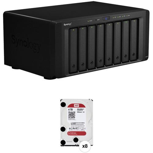 Synology DiskStation DS1815+ 32TB (8 x 4TB) 8-Bay NAS Server Kit
