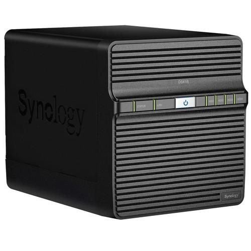 Synology DiskStation DS418j 4-Bay NAS Enclosure