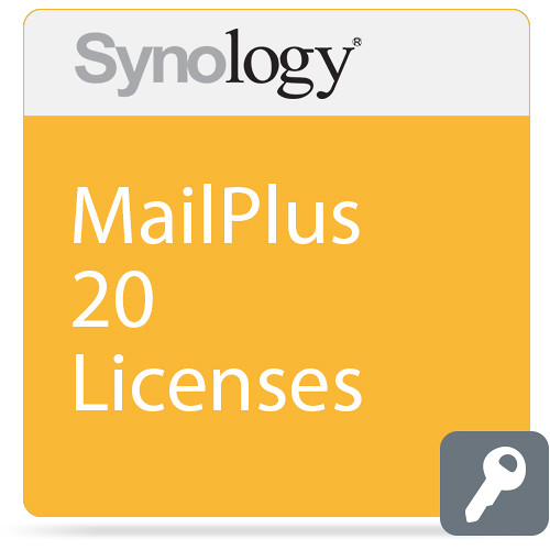 Synology 1-Year MailPlus License Pack (20 Email Accounts)