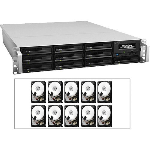 Synology RS10613xs+ RackStation Kit