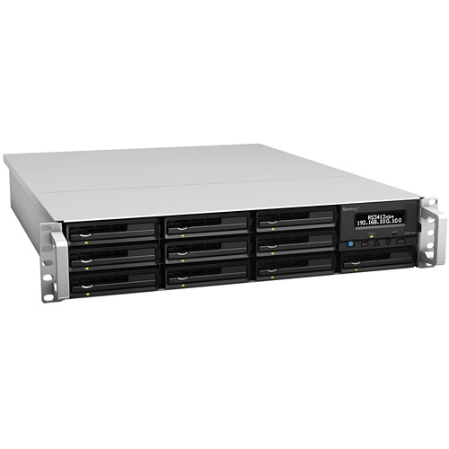 Synology RackStation RS3413xs+ 10-Bay Storage Server
