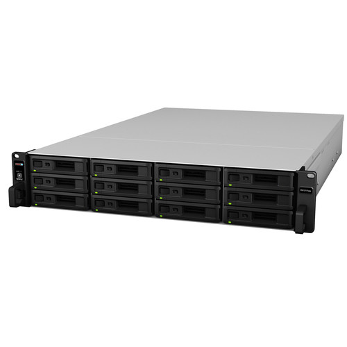 """Synology RX1217sas 12-Bay 2.5""""/3.5"""" SAS/SATA Expansion Chassis for RS18017xs+"""