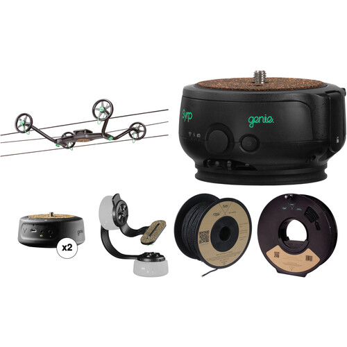 Syrp Slingshot 3-Axis 328' Motion-Controlled Cable Cam Time-Lapse Kit 2