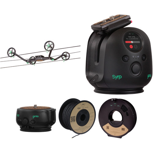 Syrp Slingshot 3-Axis 328' Motion-Controlled Cable Cam Time-Lapse Kit 1
