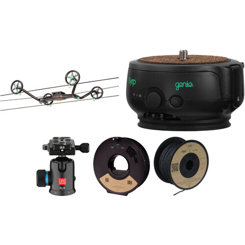 Syrp Slingshot 1-Axis 328' Motion-Controlled Cable Cam Time-Lapse Kit