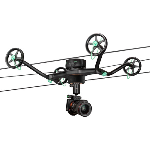 Syrp Slingshot Pan & Track Cable Cam Indie Kit (164')