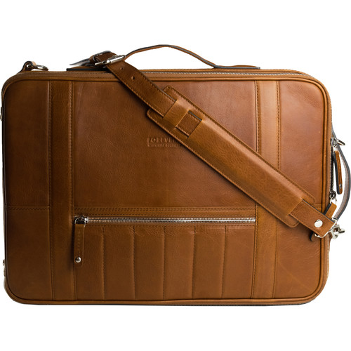 T. Forevers 48HR Switch Briefcase/Backpack (Old School Leather)