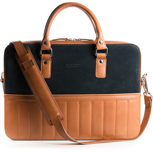 T. Forevers Urban Briefcase (Rum & Suede)